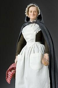 Martha Washington in late 1777