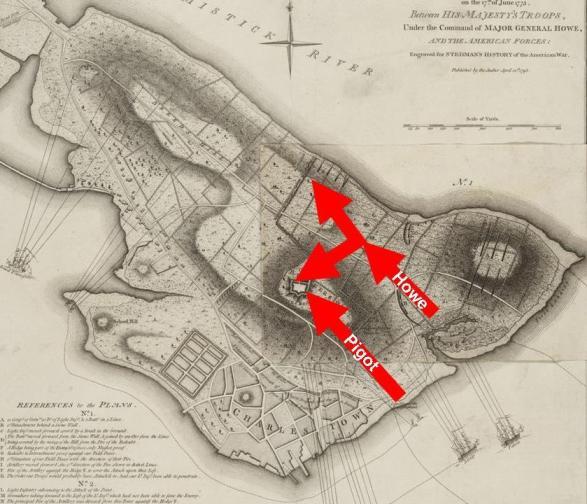 3rd Assault on Bunker Hill, June 17, 1775