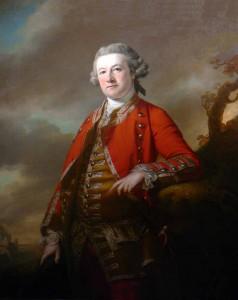 Col. Robert Pigot of the 38th Regiment, c. 1765. (Francis Cotes)