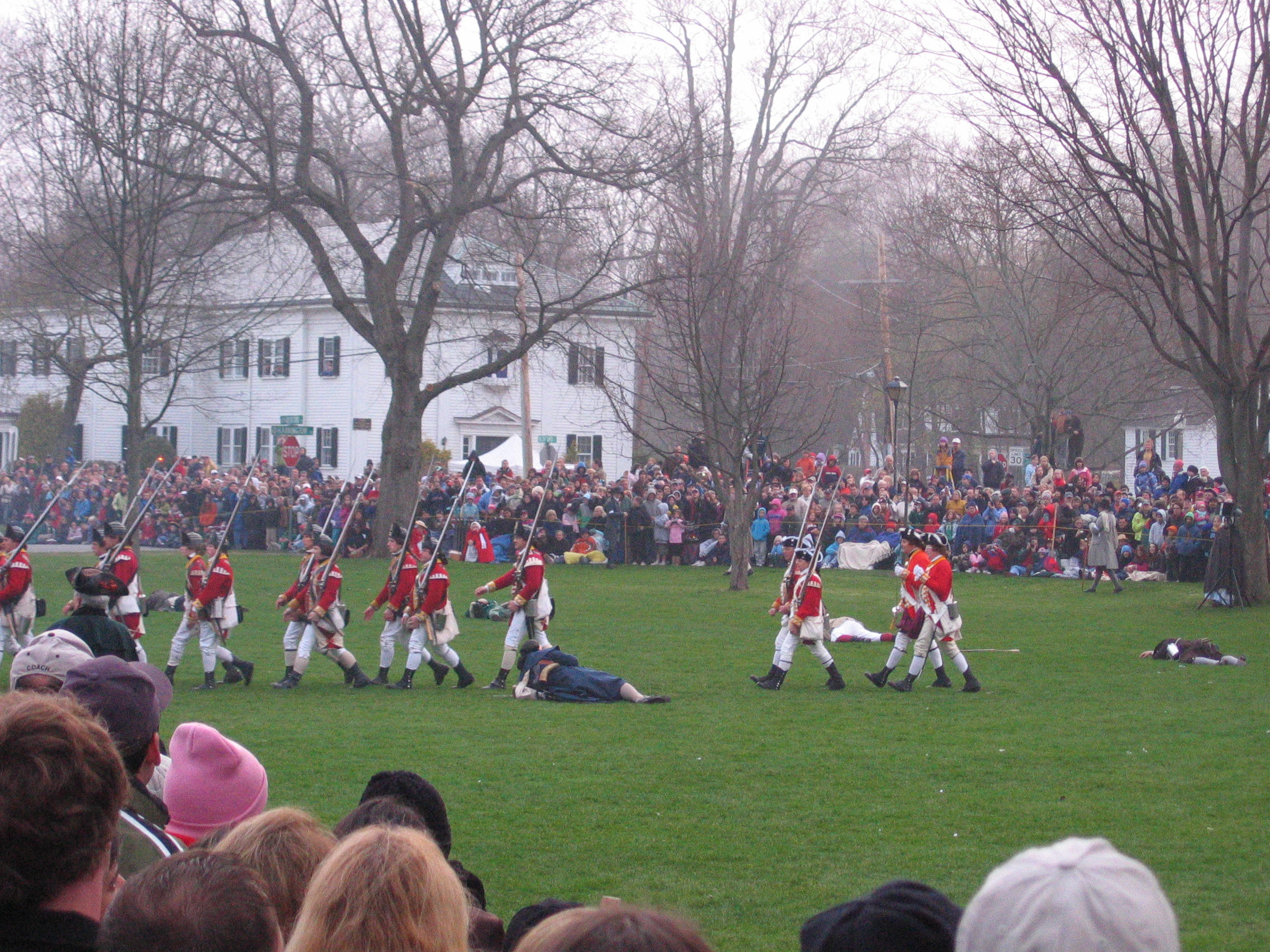 Francois Illas New Tradition: Lexington, MA—First Shots Of The Revolution, Repeated