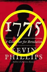 "Kevin Phillips' ""1775"" book"